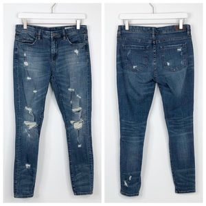 Blank NYC Skinny Classique Distressed Skinny Jeans